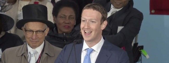 zuckerberg harvard discorso