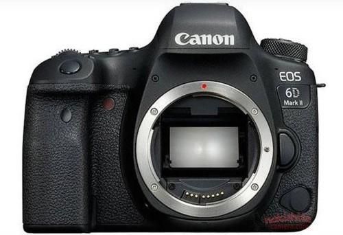 Una prima immagine della nuova Canon EOS 6D Mark II