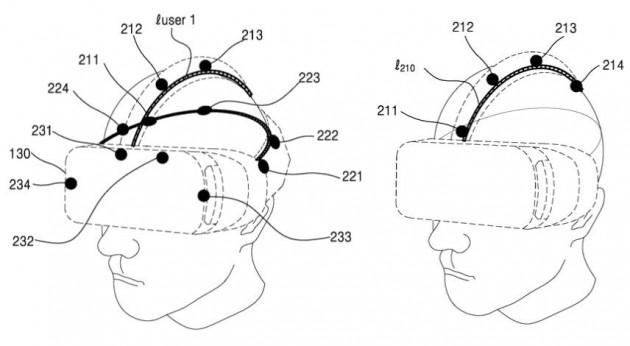 Brevetto Samsung Gear VR