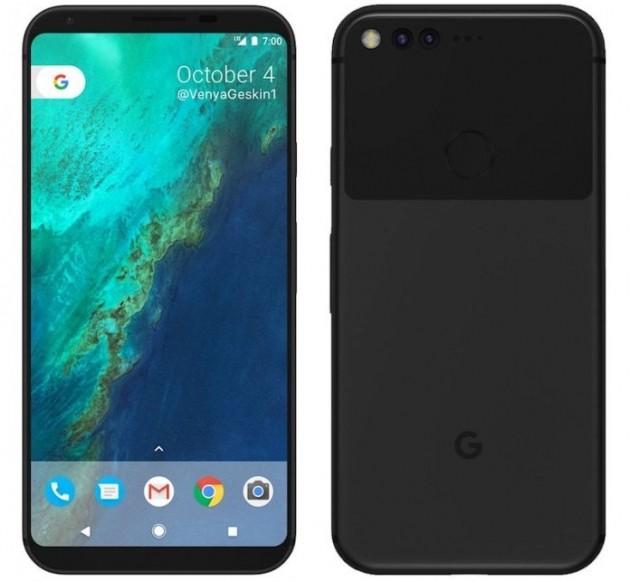 Google Pixel 2 concept