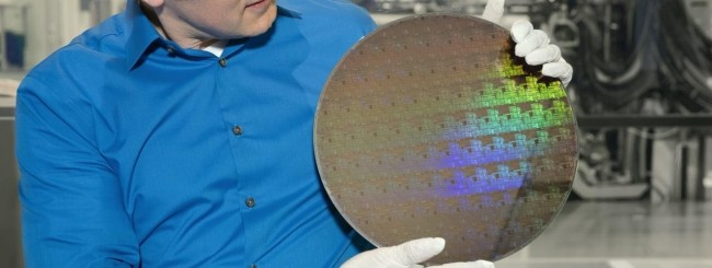 IBM wafer chip 5 nanometri