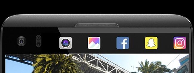 LG V20 second screen