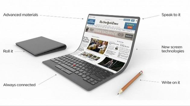 Lenovo foldable notebook