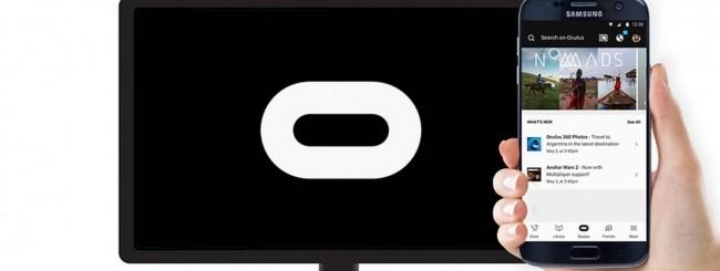 Samsung Gear VR - Google Chromecast