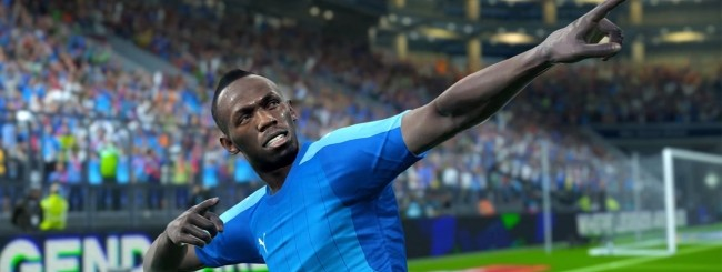Usain Bolt in PES 2018