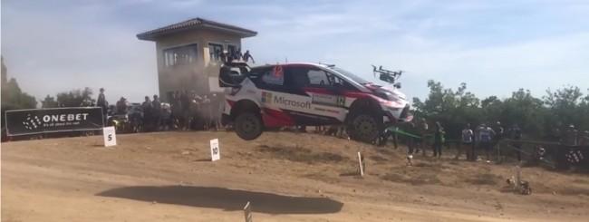 Droni, crash al Rally Italia Sardegna