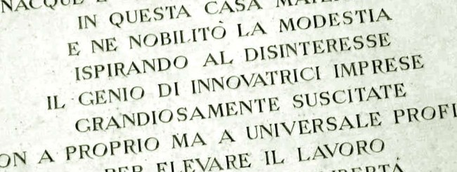 Enrico Mattei: la sua casa ad Acqualagna