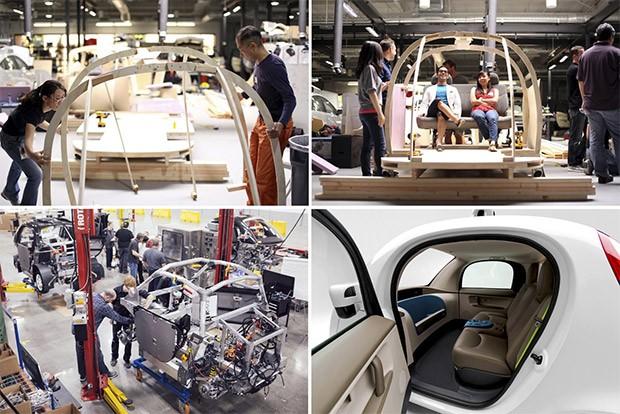 La self-driving car Firefly di Waymo, introdotta nel 2014 come Google self-driving car