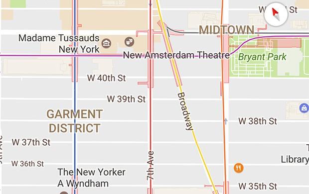 Per alcune città, Google Maps ha iniziato a mostrare le linee della metropolitana