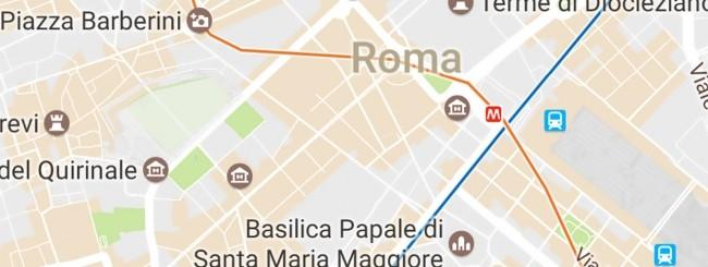 Google Maps: linee metro