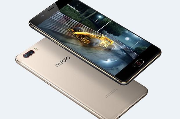 Il design dello smartphone Nubia M2