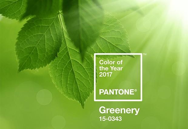 Pantone, Greenery