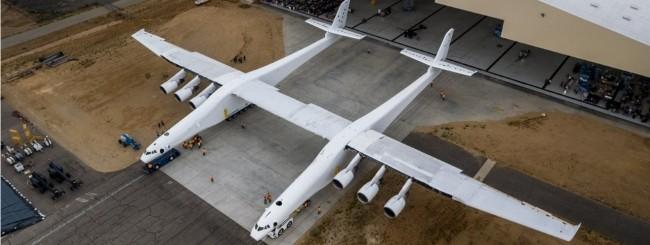 Paul Allen svela l'aereo più grande del mondo