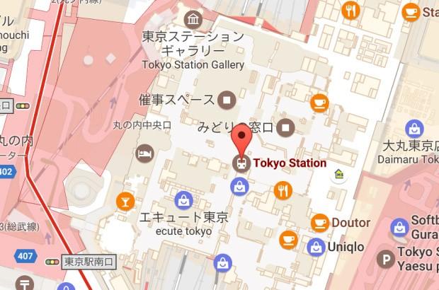 La piantina delle stazioni della metropolitana su Google Maps