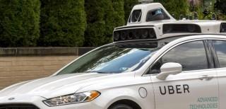 Uber, self-driving car