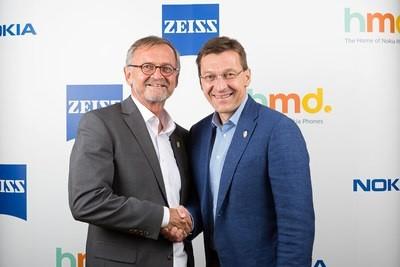 Stretta di mano tra HMD Global e ZEISS per il comparto imaging dei prossimi smartphone Nokia