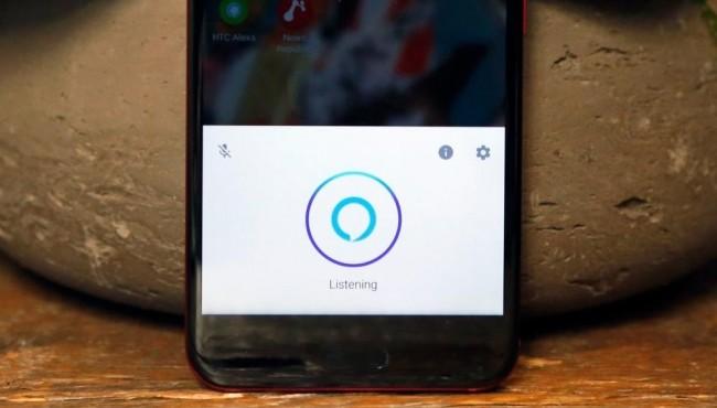 HTC U11, Alexa è il terzo assistente personale