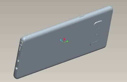 Samsung Galaxy Note 8 CAD