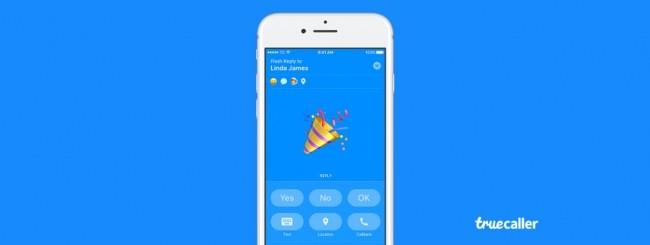 Truecaller Flash Messaging