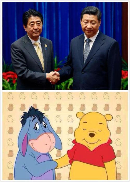 Winnie the Pooh e Xi Jinping