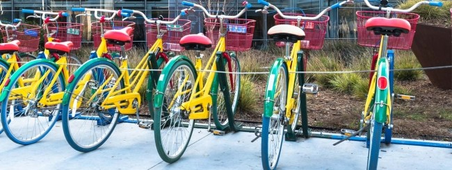 Le biciclette di Google