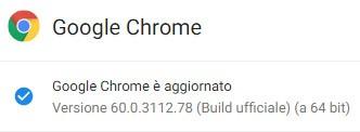 Il browser Chrome è stato aggiornato da Google alla versione 60.0.3112.78 sulle piattaforme Windows, macOS e Linux