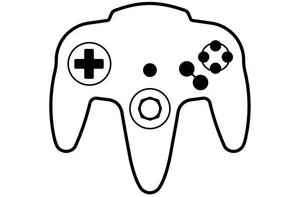 L'immagine contenuta nella documentazione depositata mostra chiaramente il controller della console Nintendo 64