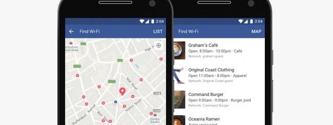 Il trova WiFi di Facebook disponibile per tutti