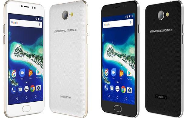 Il design dello smartphone General Mobile GM6 nelle due colorazioni disponibili: Space Gray e Gold