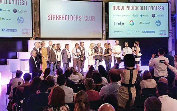 """L'evento """"Il Piano Scuola Digitale incontra il Paese"""" organizzato a Roma dal Ministero dell'Istruzione, dell'Università e della Ricerca"""