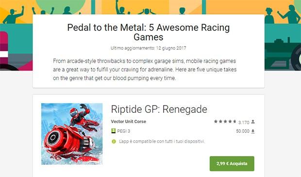 Google Play Editors' Choice: i migliori giochi Android, per categoria, suggeriti dal team di Play Store