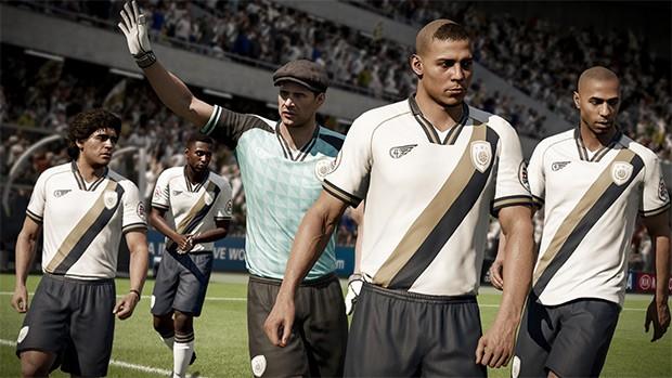Le icone che hanno fatto la storia del calcio tornano in campo con FIFA 18