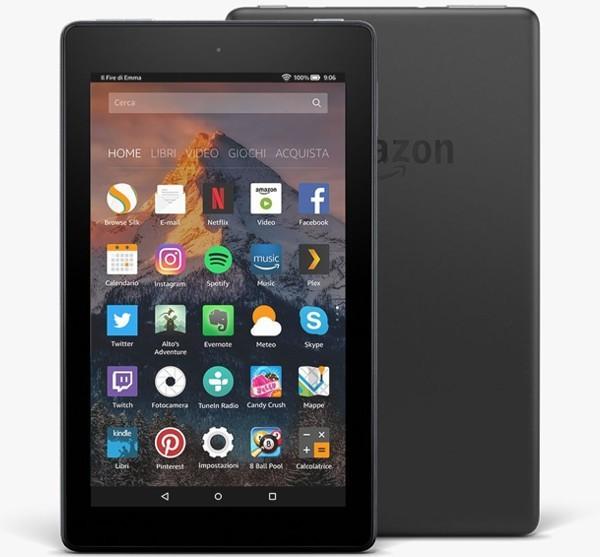Kindle Fire 7 in offerta per il Prime Day