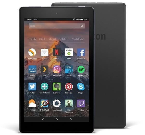 Amazon Kindle Fire HD 8 in offerta per il Prime Day