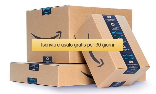 Amazon Prime: 30 giorni gratis