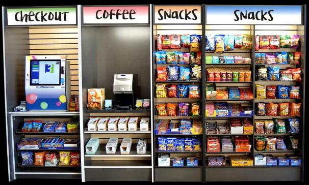 Il chip impiantato sottopelle può essere utilizzato per l'acquisto di snack e bibite dai rivenditori automatici installati all'interno dell'azienda