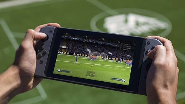 FIFA 18 su Nintendo Switch