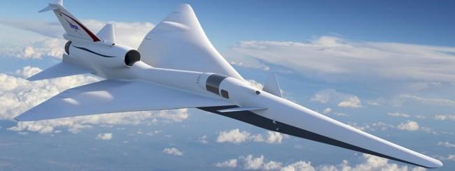 La NASA progetta un aereo supersonico silenzioso