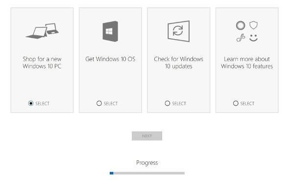 Microsoft suggerisce il PC Windows 10 da comprare