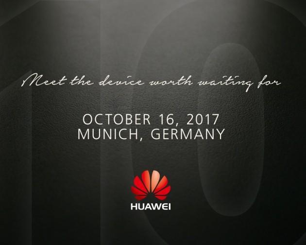 Huawei Mate 10 annuncio