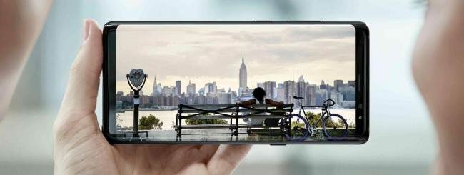 Samsung Galaxy Note 8 Infinity Display