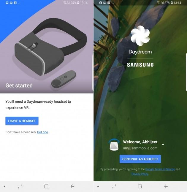 Samsung Galaxy S8 - Daydream
