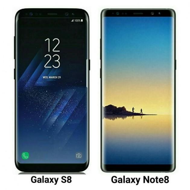 Samsung Galaxy S8 - Note 8