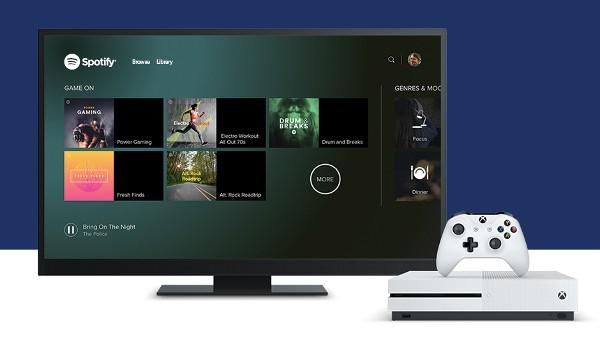 Spotify arriva ufficialmente su Xbox One