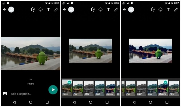 WhatsApp Photo Filters Android