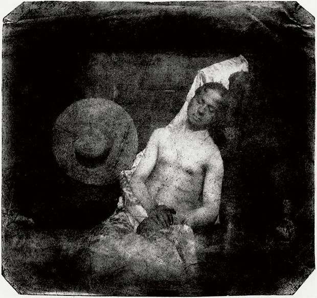 Hippolyte Bayard, Self Portrait as a Drowned Man, 1840
