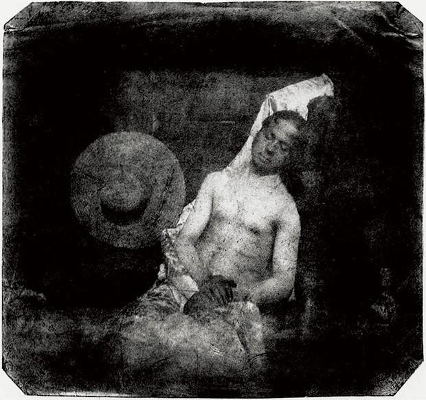 Hippolyte Bayard, Self Portrait as a Drowned Man, 1840