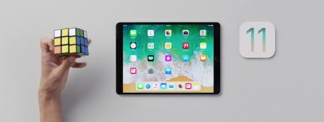 iOS 11 - iPad