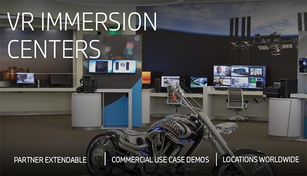 Gli Immersion Centers di HP