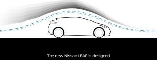 L'aerodinamica della nuova Nissan LEAF